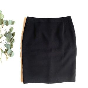 CK | black pencil suit skirt sz 10